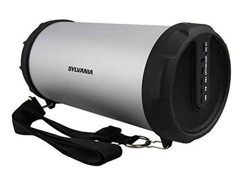Sylvania Bluetooth Speaker Shoulder Silver