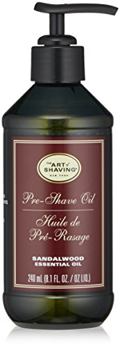 The Art of Shaving Pre Shave Oil, Sandalwood, 8 Ounce