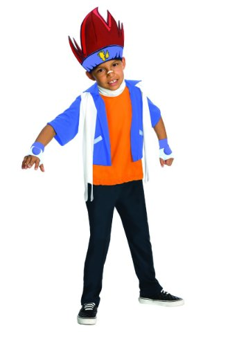 [Beyblade Child's Gingka Costume - One Color - Large] (Beyblade Halloween Costumes)