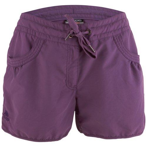 Kappa - Pantalones cortos para mujer Morado (mauve)