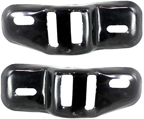 For 15 16 17 Camry 2.5L//3.5L Front Bumper Retainer Mounting Bracket SET PAIR