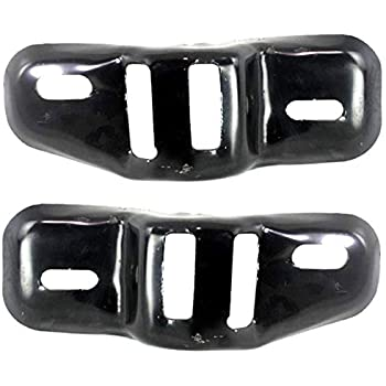 New Set of 2 Right /& left Bumper Retainers Mounting Kit Primed For Ford Explorer