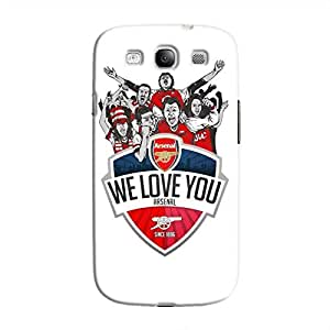 Cover It Up - Arsenal WLYou Galaxy S3 Hard Case