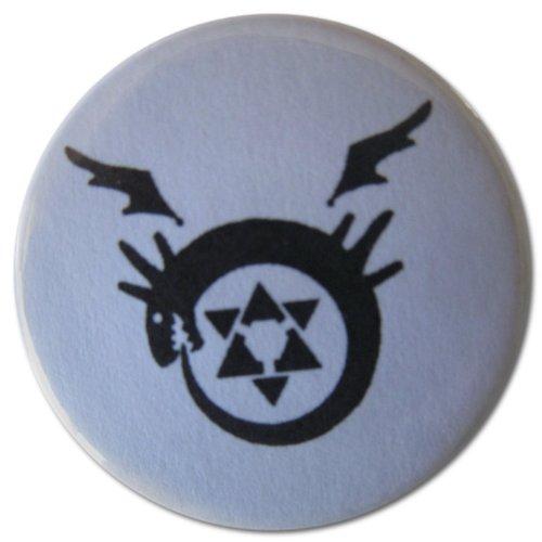 Fullmetal Alchemist Brotherhood Greed Costumes - Homunculi Symbol (Fullmetal Alchemist) 1.25 Inch