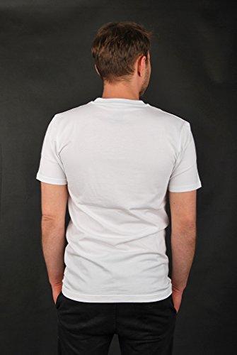 Cleptomanicx - Camiseta deportiva - para hombre Weiß
