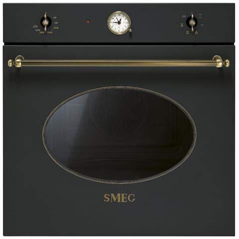 Smeg SF800AO Forno elettrico 72L A-10% Antracite forno: Amazon.it ...