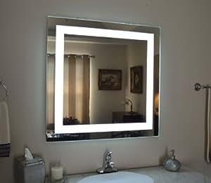 Amazon.com: Wall Mounted Lighted Vanity Mirror MAM83232