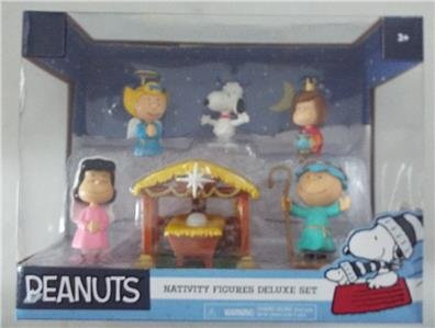 New PEANUTS Nativity Figures DELUXE 7 Piece CHRISTMAS Set Sold Out!
