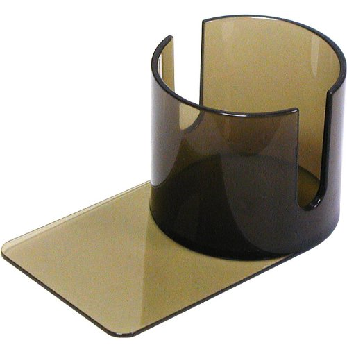 Trademark Poker Smoke Slide Under Plastic Cup Holder with Cutouts