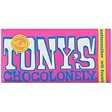 Tony's Chocolonely Weiße Schokolade Himbeer Knusperzucker 180g