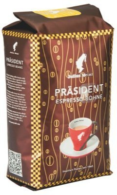 Meinl Coffee Präsident Espresso Whole Beans Tradition, 5 Packages With Each 500 Grams, Total 2.5 Kilograms