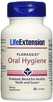 Life Extension Florassist Oral Hygiene Lozenges, 30 Count