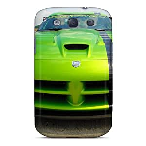 First-class Case Cover For Galaxy S3 Dual Protection Cover The Green Viper