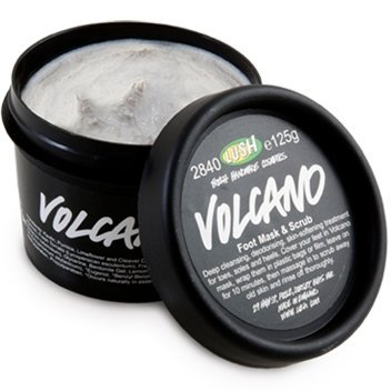 Lush Cosmetics Volcano Foot Mask, 4.4 Ounces