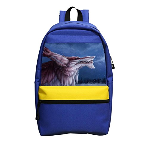 Kid'S Digital Dragon Fantasy Feral Lightweight School Backpack Laptop Shoulder Bag For Children