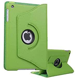 360 DEGREE ROTATING PU LEATEHER CASE FOR IPAD 5 AIR