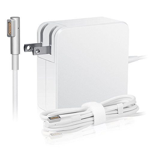 Macbook pro charger, AC 85w Magsafe Power Adapter Replacement Charger for Macbook Pro-13/15/17 in-retina display-L-Tip.Compatible with all Macbooks 2012 and Before.