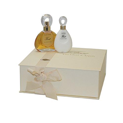 Van Cleef & Arpels First Gift Set for Women (Eau De Parfum Spray, Perfumed Body Lotion) (First Van Cleef And Arpels Gift Set)