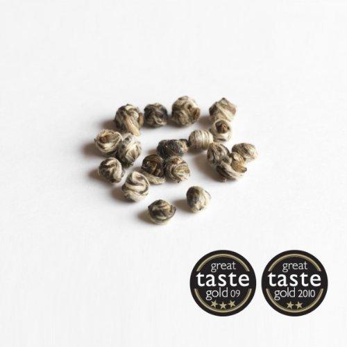 Jasmine Pearls Green Tea (250g foil) by Canton Tea Co.