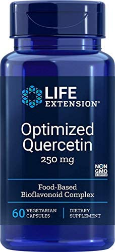Life Extension Optimiert Quercetin 250 mg, 60 Kapseln