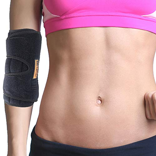 Pain Cubital Tunnel - Everyday Medical Elbow Brace for Arthritis and Cubital Tunnel Syndrome I Elbow Immobilizer Splint for Tennis Elbow I Stabilizer Support Splint with removable Splint I Fits Both Arms I Unisex I 2 Sizes