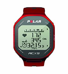 Polar RCX5 Heart Rate Monitor (Red)