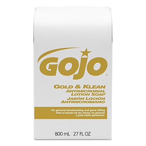 - GOJO : Gold & Klean Lotion Soap Bag-in-Box Dispenser Refill, Fresh Liquid, 800-ml -:- Sold as 2 Packs of - 1 - / - Total of 2 Each