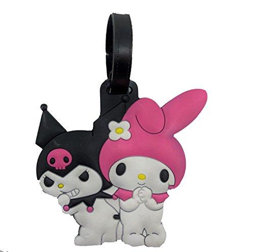 Silicone Cartoon Luggage Tags (My Melody) (Hello Kitty Luggage Tag)