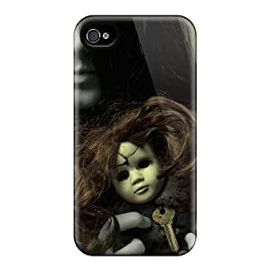 Douglasjoy2014 Fashion Protective Creepy Ghost Girl Cases Covers For Iphone 6plus Black Friday