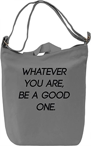 Be a good One Borsa Giornaliera Canvas Canvas Day Bag| 100% Premium Cotton Canvas| DTG Printing|