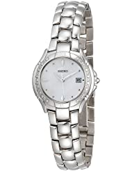 Seiko Womens SXDB05 Reflections Diamond Watch