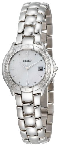 Seiko Women's SXDB05 Reflections Diamond Watch