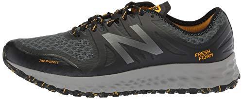New Balance Men's Kaymin V1 Fresh Foam Trail Running Shoe Faded Rosin/Black/Brass 7 D US by New Balance (Image #5)