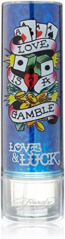 Christian Audigier Ed Hardy Love and Luck Eau de Toilette Spray for Men, 6.8 Ounce