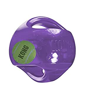 KONG Jumbler Ball Toy, Large/X-Large (colors may vary)