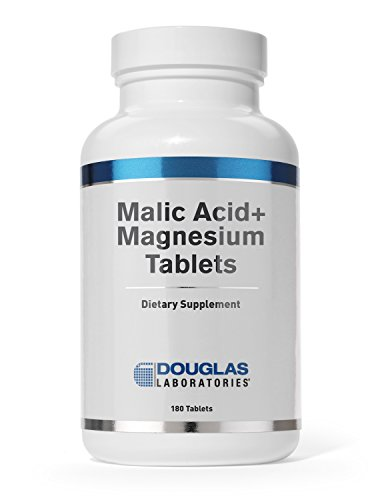 Douglas Laboratories® - Malic Acid + Magnesium - Supports the Healthy Structure and Function of the Immune and Skeletal Systems* - 180 Tablets System Food Based 180 Tablets