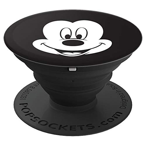 Disney Smiling Mickey Mouse Face - PopSockets Grip and Stand for Phones and Tablets