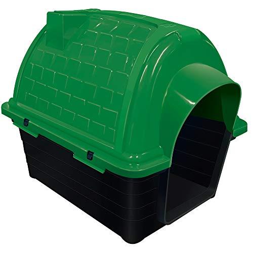 Casinha Plástica Furacão Pet Iglu N.2.0, Verde Furacão Pet para Cães