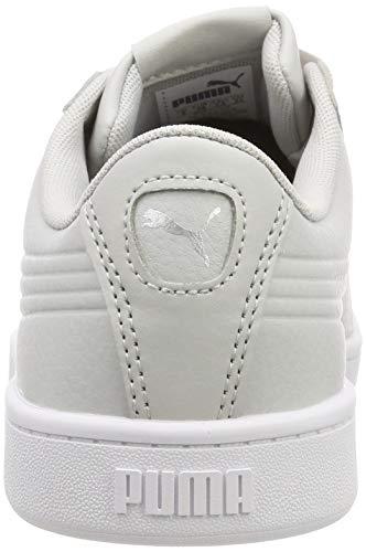 Core V2 Scarpe White Vikky Bianco Puma Ginnastica Da Donna Eu Silver Ribbon Basse SpZtx
