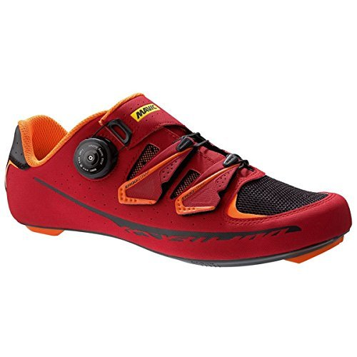 Mavic Ksyrium Pro II Shoes - Men's Red/Black/Orange, 11.5 by Mavic