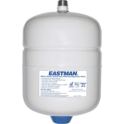 - Eastman 60022 60022/DET-5 2 Gallon Expansion Tank, White