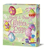 4M Mold and Paint Glitter Eggs Kit