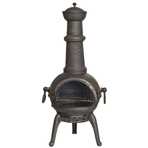 La-Hacienda-Sierra-Cast-Iron-Chiminea-Large-Bronze