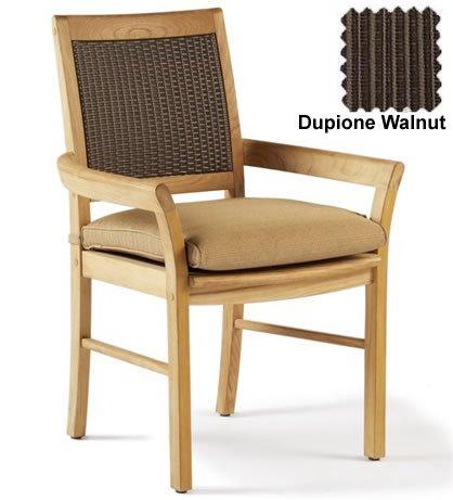 Dining Chair Sunbrella Fabric Outdoor Cushion (Dining Chair not included) - choose any Sunbrella Fabric (Sunbrella Premium Fabric)