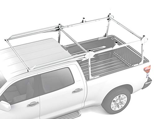 - AA Products Inc. AA-Racks X209 Series Heavy-duty Truck Rack Sqaure Bar Rack w/Side-bars and Long Over-cab. White