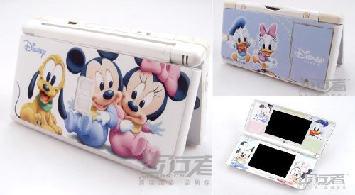 Mickey And Minnie Mouse Vinyl Skin Sticker Decal Cover for Nintendo DS Lite(DSL)