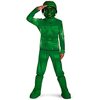 Image Unavailable  sc 1 st  Amazon.com & Amazon.com: Green Army Man Deluxe Costume Child (3T-4T): Toys u0026 Games