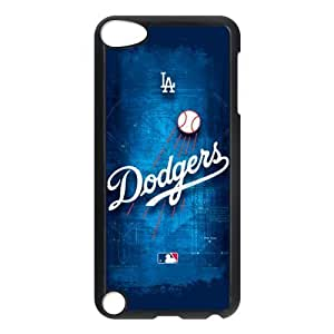 Customize MLB Los Angeles Dodgers Back Case for ipod Touch 5 JNIPOD5-1184