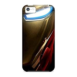 fenglinlinHigh Grade 88caseme Cases For iphone 5/5s - Ironman Half Face