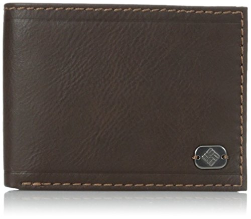 Columbia Mens Passcase Wallet Removable